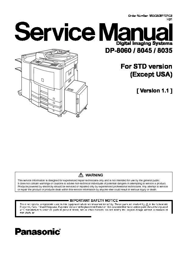 PANASONIC DP 8035 DRIVER FOR WINDOWS