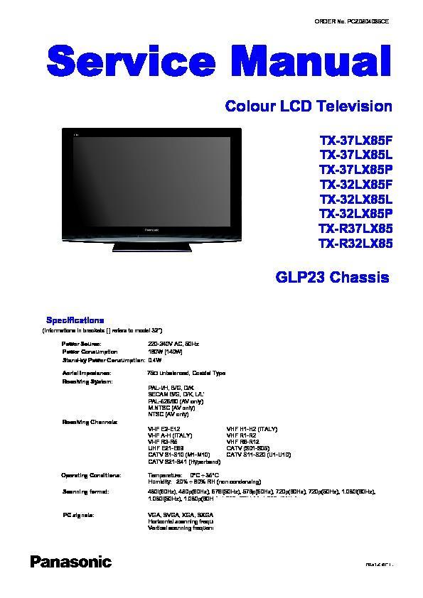 panasonic tv service manuals page 40 rh servlib com Panasonic TV Schematics Panasonic TV Schematics