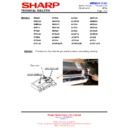 Sharp AH-X13 (serv.man18) Technical Bulletin
