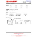 Sharp AH-X13 (serv.man19) Technical Bulletin