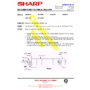 Sharp AH-X13 (serv.man21) Technical Bulletin