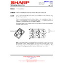 Sharp AH-X138 (serv.man2) Technical Bulletin