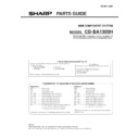 CD-BA1300 (serv.man4) Parts Guide