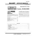 CD-BA1300 (serv.man6) Service Manual