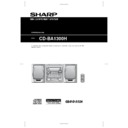 CD-BA1300 User Guide / Operation Manual