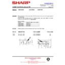 Sharp CD-BA1700 (serv.man25) Technical Bulletin