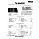 Sharp CD-C500 (serv.man2) Service Manual
