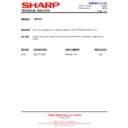 Sharp CD-E250 (serv.man23) Technical Bulletin