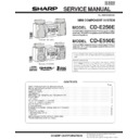 Sharp CD-E250 (serv.man4) Service Manual