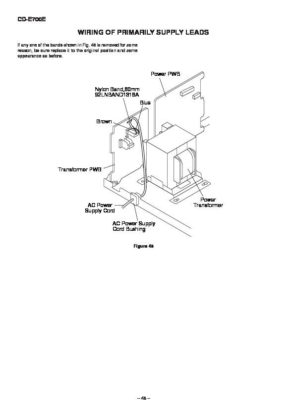 Sharp CDE700 SERVMAN17 Service Manual View online or Download