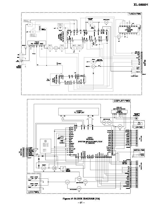 Sharp    XL3500  SERVMAN14  Service    Manual        View online or