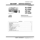 Sharp XL-520E (serv.man2) Service Manual