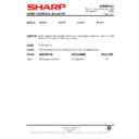 Sharp XL-520E (serv.man3) Technical Bulletin