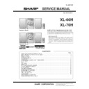 XL-60 (serv.man26) Service Manual