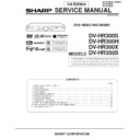 Sharp DV-HR300H (serv.man2) Service Manual