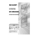 Sharp DV-HR300H (serv.man20) User Guide / Operation Manual