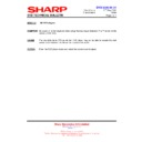 Sharp DV-HR300H (serv.man30) Technical Bulletin