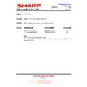Sharp DV-HR300H (serv.man31) Technical Bulletin