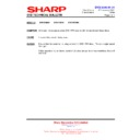 Sharp DV-HR300H (serv.man33) Technical Bulletin