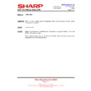 Sharp DV-NC100H (serv.man10) Technical Bulletin