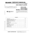 Sharp DV-SL10H (serv.man2) Service Manual