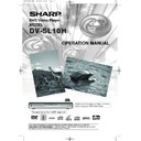 Sharp DV-SL10H (serv.man20) User Guide / Operation Manual