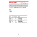 Sharp CABLES (serv.man4) Specification