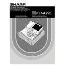 Sharp ER-A220 (serv.man3) User Guide / Operation Manual