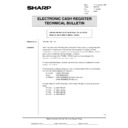 Sharp OPTIONS (serv.man34) Technical Bulletin