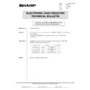 Sharp OPTIONS (serv.man36) Technical Bulletin