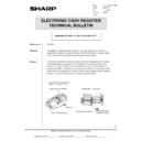 Sharp OPTIONS (serv.man37) Technical Bulletin
