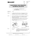 Sharp OPTIONS (serv.man38) Technical Bulletin
