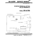 Sharp OPTIONS (serv.man7) Service Manual