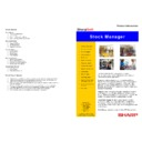 Sharp SHARPSOFT (serv.man5) Brochure