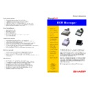 Sharp SHARPSOFT (serv.man8) Brochure