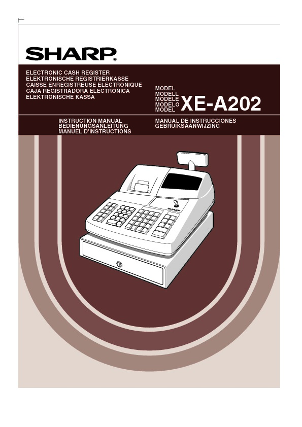 sharp xe a202 serv man3 user guide operation manual view rh servlib com sharp xe a20s manual sharp xe a20s manual