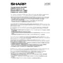 Sharp ER-A750 (serv.man15) Technical Bulletin