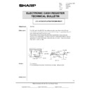 Sharp ER-A750 (serv.man19) Technical Bulletin