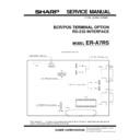 Sharp ER-A750 (serv.man2) Service Manual