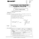 Sharp ER-A750 (serv.man21) Technical Bulletin