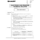 Sharp ER-A750 (serv.man22) Technical Bulletin