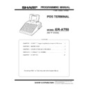 Sharp ER-A750 (serv.man5) Service Manual