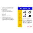Sharp SHARPSOFT (serv.man9) Brochure