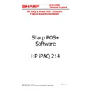 Sharp VENTA HANDHELD (serv.man11) User Guide / Operation Manual