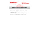 Sharp VENTA HANDHELD (serv.man58) Technical Bulletin