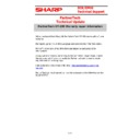 Sharp VENTA HANDHELD (serv.man59) Technical Bulletin
