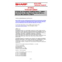 Sharp VENTA HANDHELD (serv.man60) Technical Bulletin