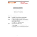 Sharp VENTA HANDHELD (serv.man61) Technical Bulletin
