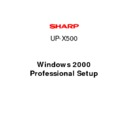 Sharp VENTA PRO (serv.man12) Service Manual