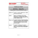 Sharp VENTA PRO (serv.man24) Technical Bulletin
